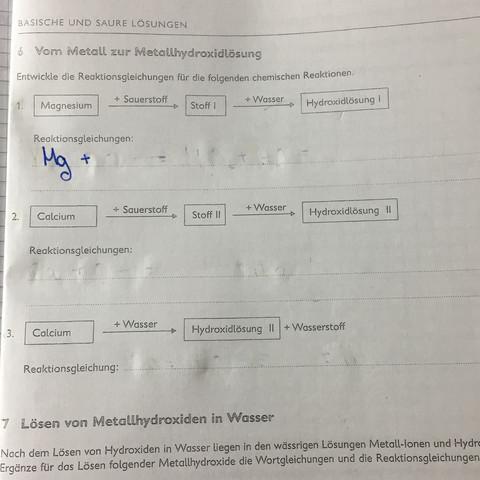 Frage zum Arbeitsblatt? (Schule, Chemie, Fragen)