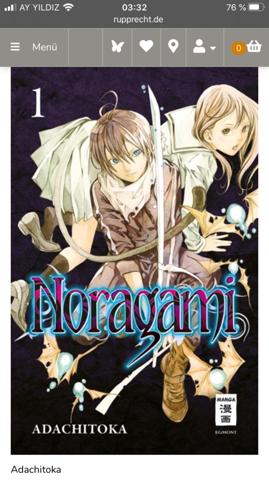 Frage zum Noragami Manga?