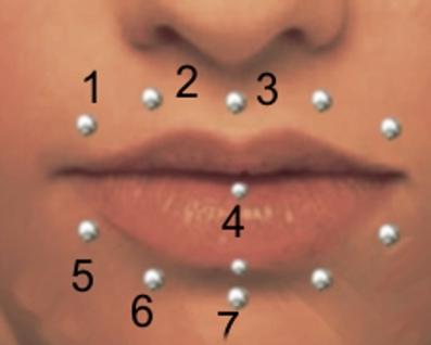 Fragen zu lippenpiercing labret piercing schmuck k rperschmuck - Lippenpiercing ring ...