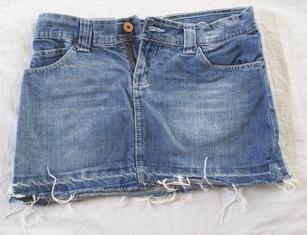 also mehr fransen als da <--- - (Jeans, Hotpants, Fransen)