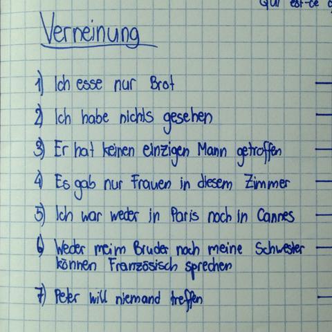 Deutsch - (Schule, deutsch, Grammatik)