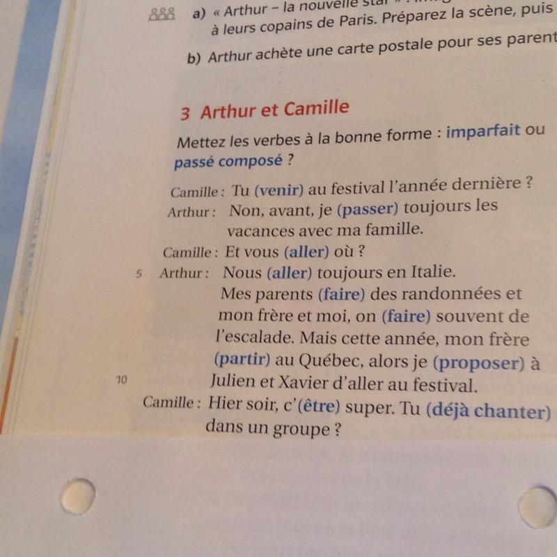 Fragen in franzosisch