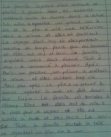 Tatatataaa - (Noten, franzoesisch, Hausaufgaben)