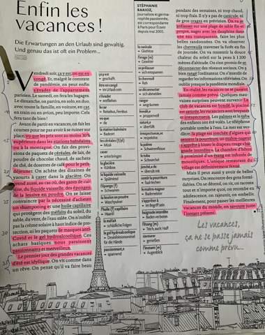 Französisch inhaltsangabe?