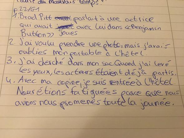 Zeigen Französisch