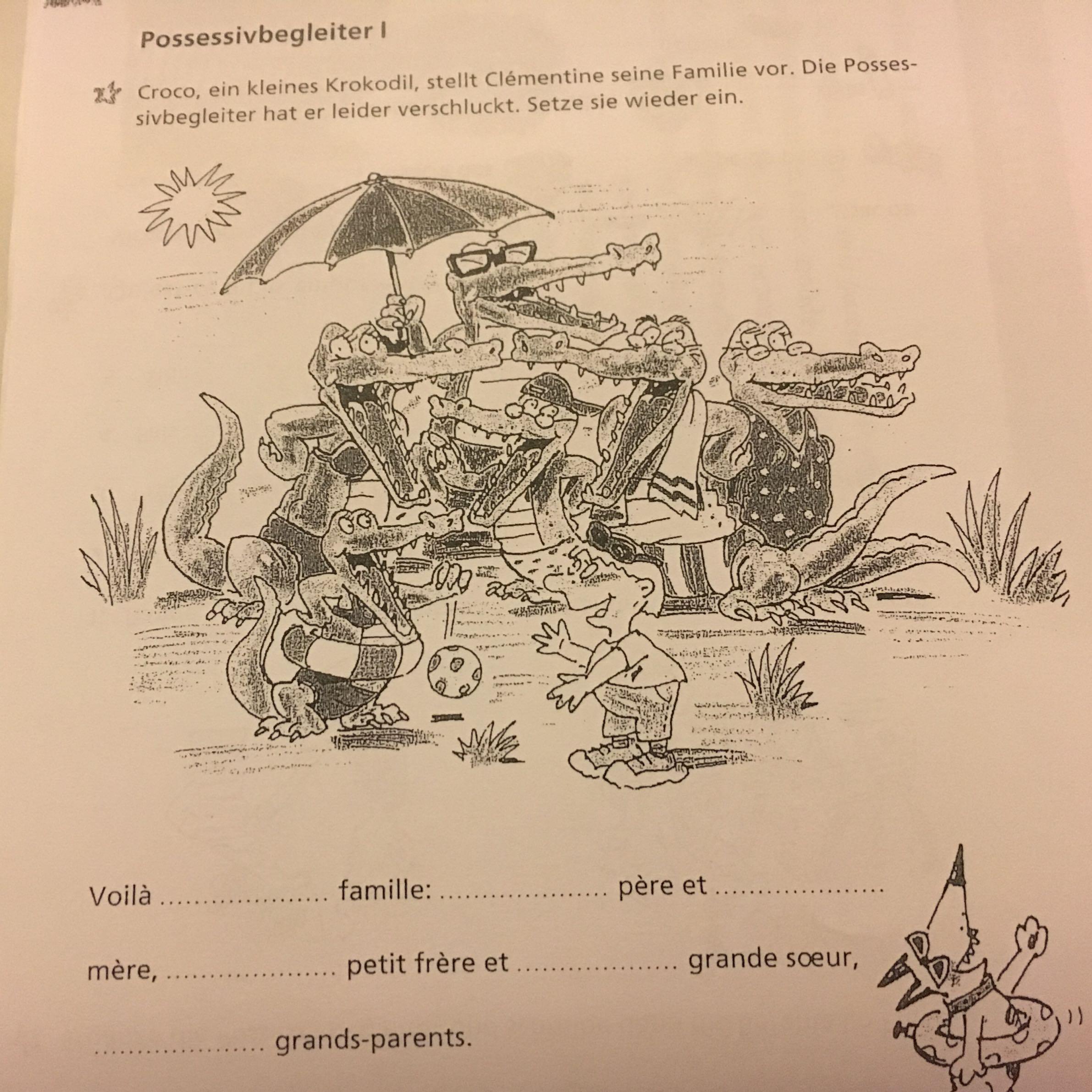 Hausaufgabe Französisch
