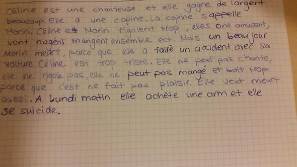 text - (Text, franz.)