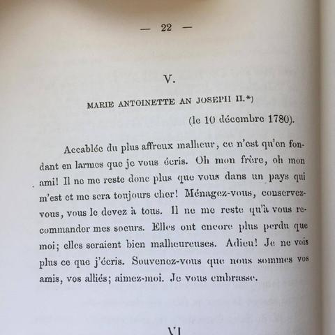 Französischen Brief ins Deutsche übersetzen (Geschichte)?