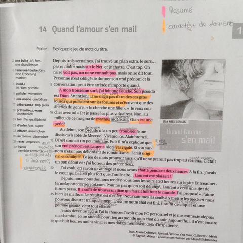Französischklausur Findet Ihr Fehler Schule Französisch Klausur