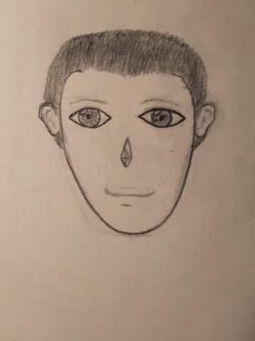 - (Kunst, Gesicht, zeichnen)