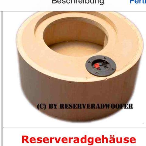 freeair subwoofer oder reserverad subwoofer auto sound. Black Bedroom Furniture Sets. Home Design Ideas