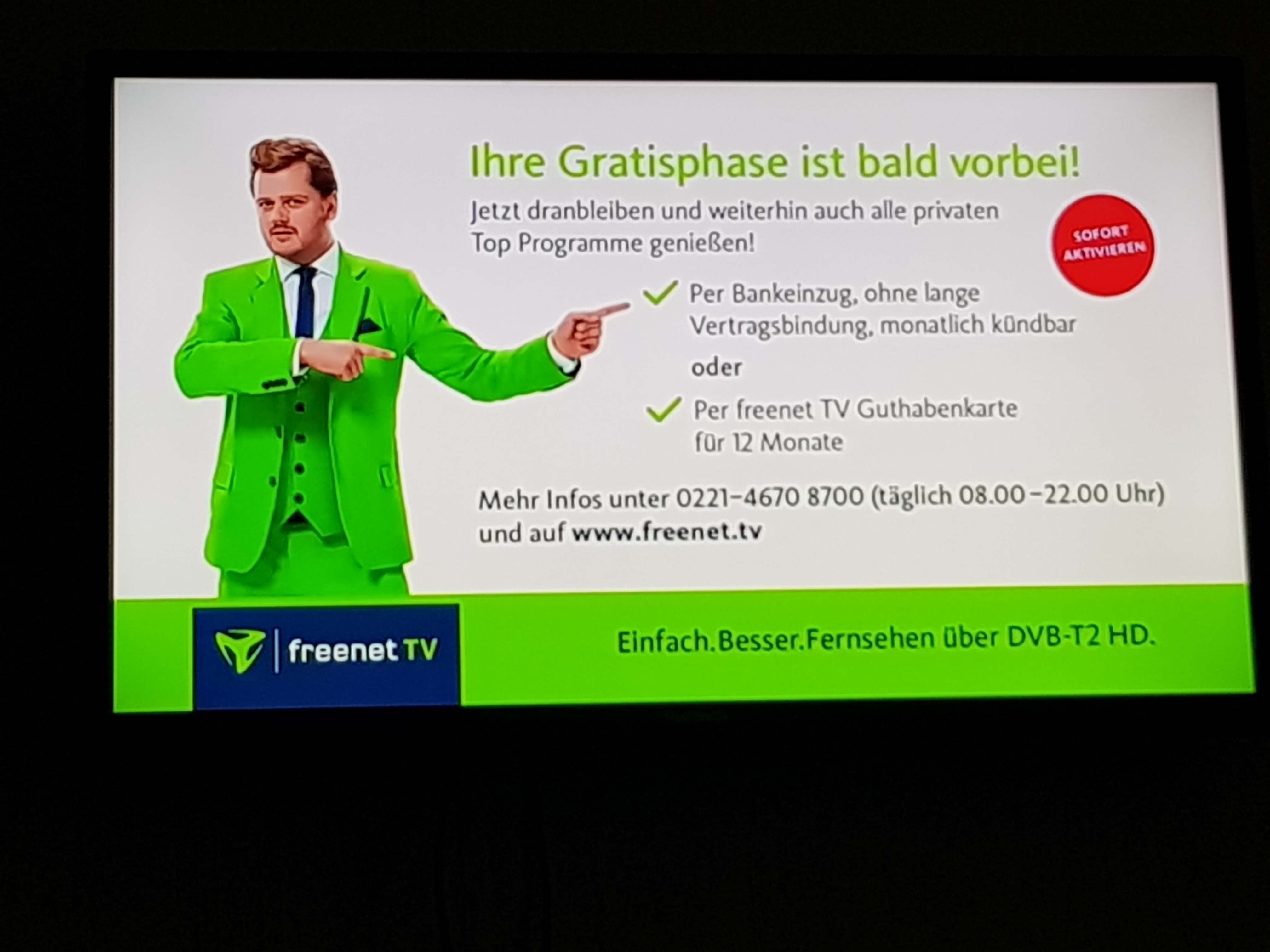 Www.Freenet.Tv/Freischaltung
