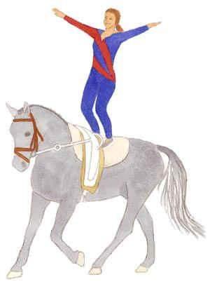 Freies Stehen auf dem Pferd .. meinung (hatte als Kinder mega Angst davor .. bzw wurde dazu gezwungen?
