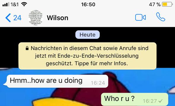 Whatsapp Fremde Nummer