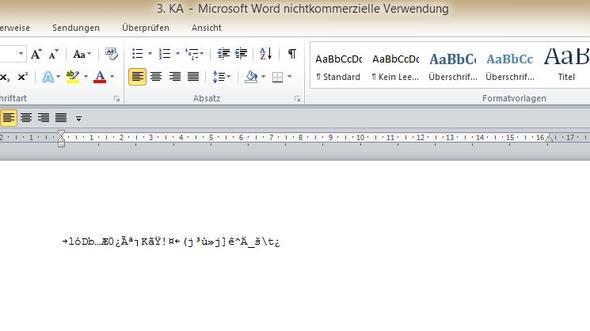 Bild 5 - (Virus, Fehlermeldung, Datei)