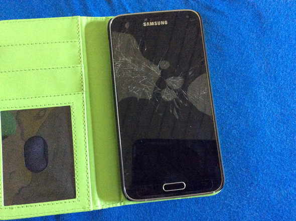 kaputtes s5 - (Handy, Recht, Smartphone)