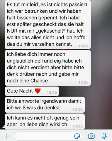 Freund Kuscheln Mit Seiner Ex Verzeihen Liebe Beziehung