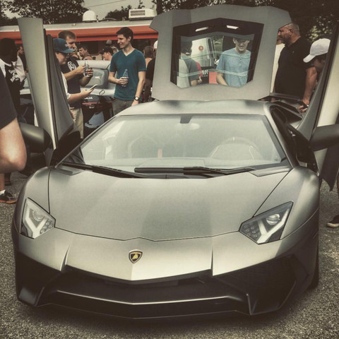 Dies ist mein Auto bei einem Treffen in der sächsischen Schweiz   - (Freundin, neidisch, teures Auto)