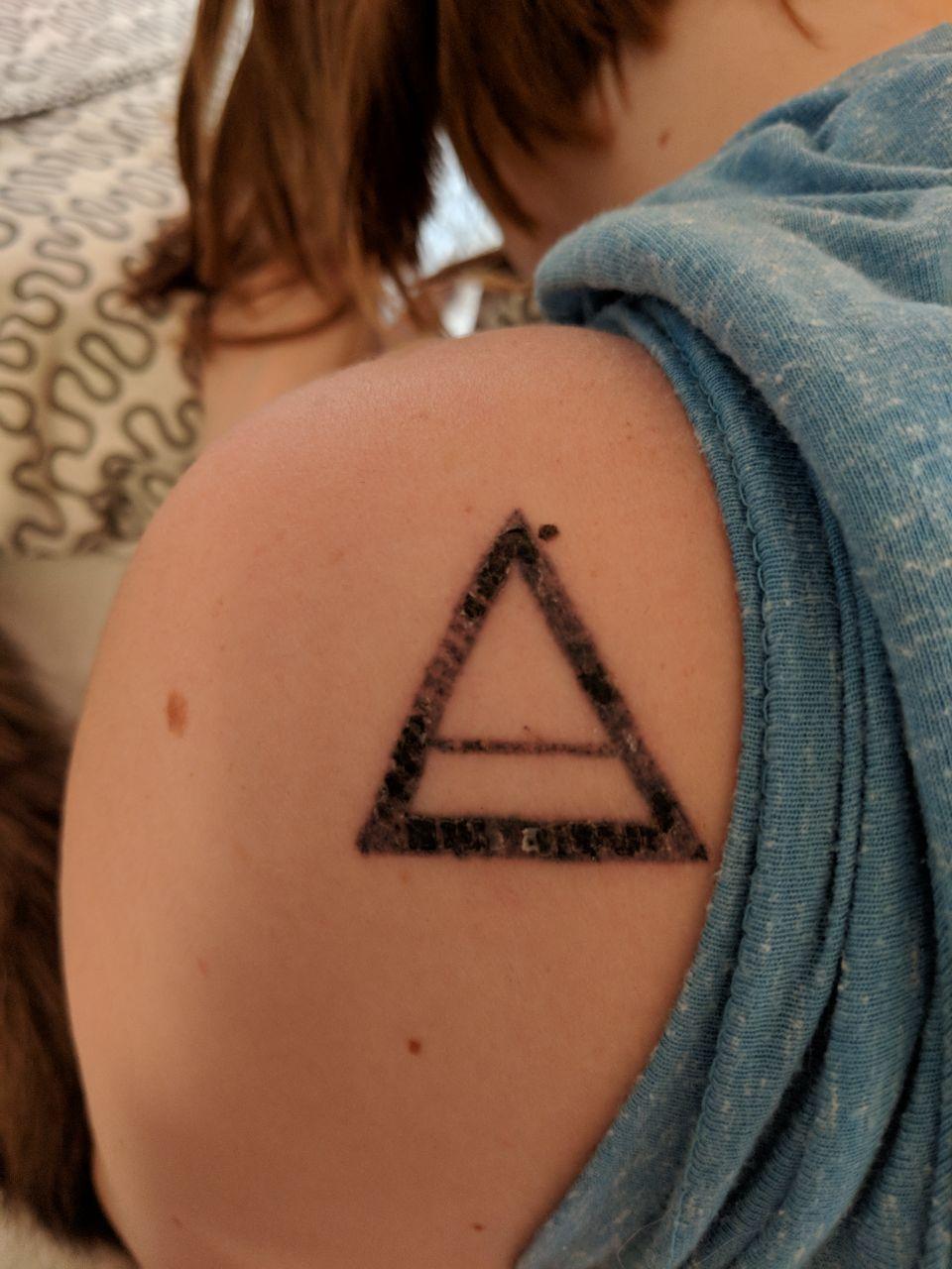 Frisches Tattoo Duschlänge Gesundheit Und Medizin Tattoopflege