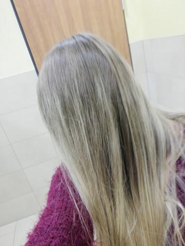 Friseur Haarfarbe?