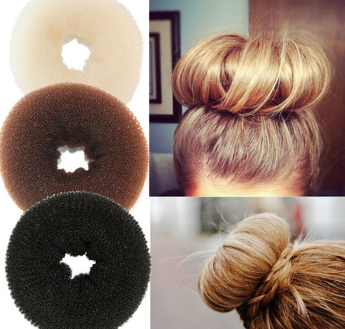 Dutt/Donut - (Haare, Frisur, Friseur)