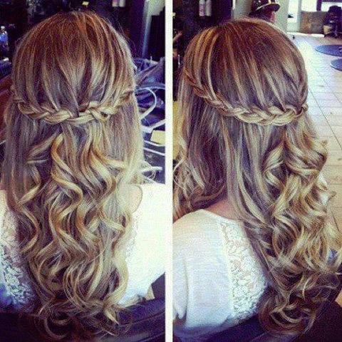 Frisuren Abschlussball Lange Haare Frisurentrends