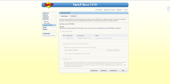 Bild - (Fritz Box, Fritz Box NAS)
