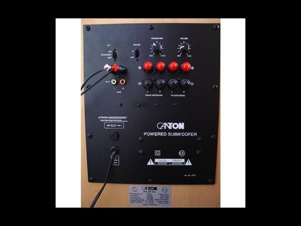 Für was sind die Lautsprecherkabel Anschlüsse an einem Aktiv ...