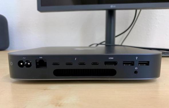 Für was sind Thunderbolt 3 Anschlüsse beim Mac Mini?
