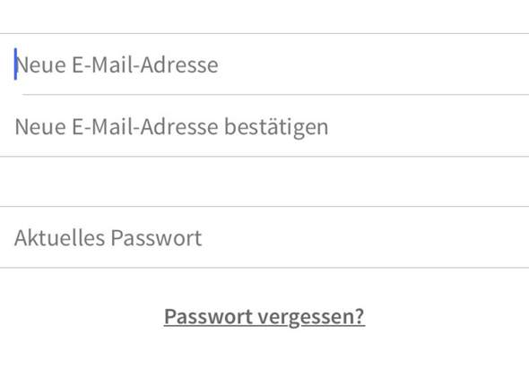 """Für was steht """"Neue E-Mail Adresse bestätigen""""?"""