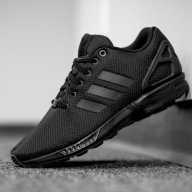 ... Der schwarze - (adidas, Sneaker, zxflux)