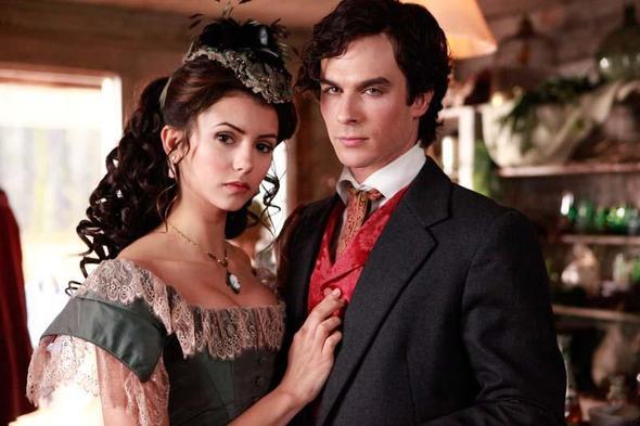 Damerine - (Fernsehen, für welches paar, bei the vampire)