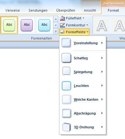 Funktionen bei Word - (Microsoft, Grafik, Word)