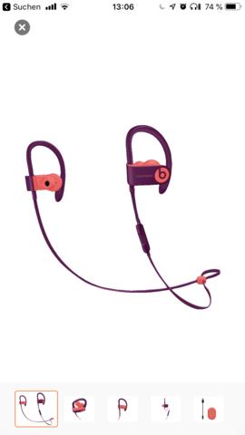 - (Technik, Beats Audio, Powerbeats 3)