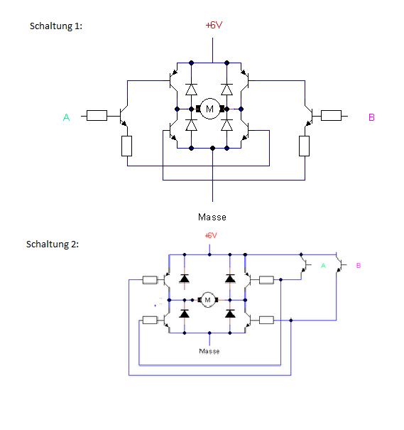 H Brücke Selber Bauen : funktioniert diese h br cke elektronik ~ Watch28wear.com Haus und Dekorationen