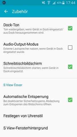 Die Einstellungen  - (Handy, Samsung)