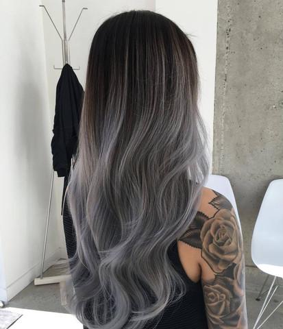 Funktioniert Haare Grau Färben Mit Schwarzer Haarfarbe Und Spülung
