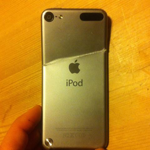 Hier von ein Bild von der Seite - (Apple, iPod Touch, iPod)