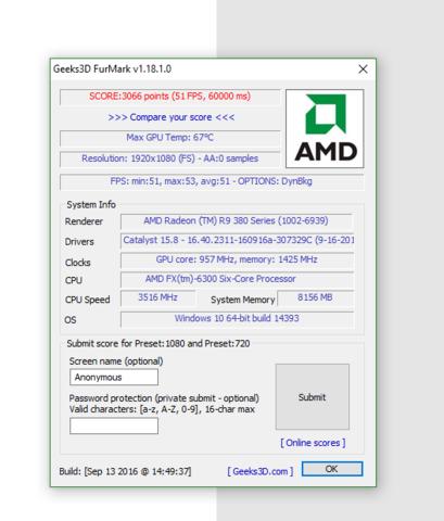 Benchmark - (Computer, PC, Grafikkarte)