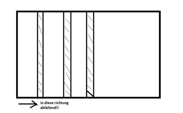 Fußboden Balken ausrichten