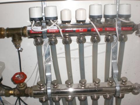 fußbodenheizung ventile einstellen
