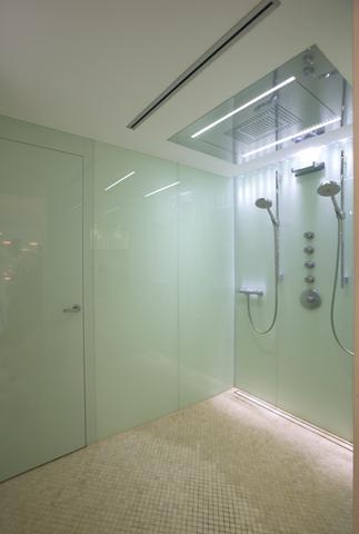 fussbodenheizung im badezimmer (dusche)