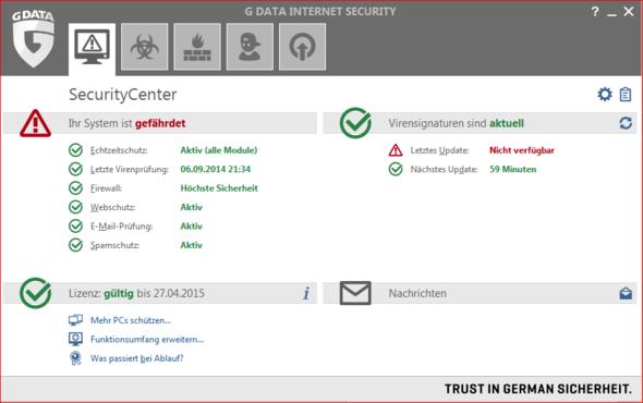 G-Data - (Update, System, Antivirus)