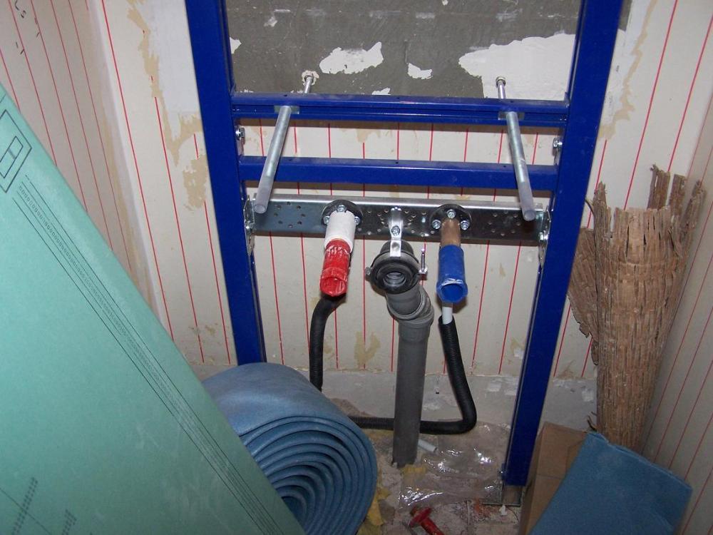 g ste wc geberit duofix gestell f r wachbecken abstand von der wand installation. Black Bedroom Furniture Sets. Home Design Ideas