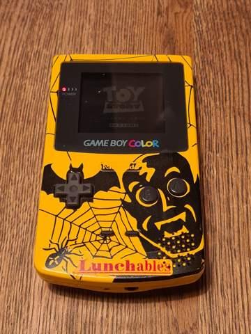 Game Boy Color Kraft Lunchables?