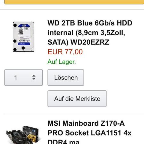 HDD und Mainboard - (PC, Minecraft, GTA 5)