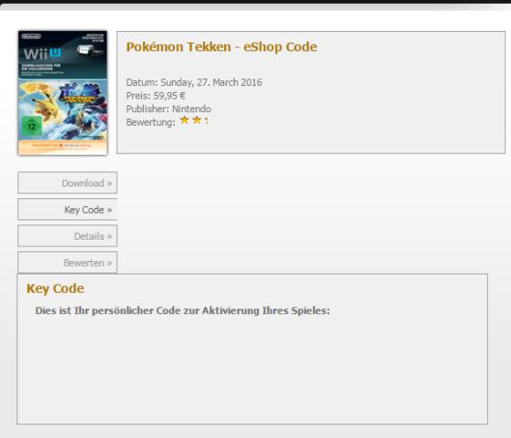 Bei Gamesrocket - (Spiele, Key, Wii U)
