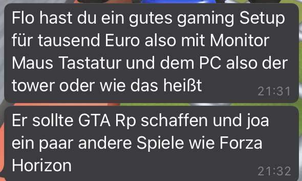 Gaming Setup bis 1000 Euro?