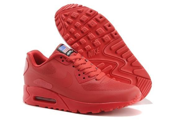 nike air max ganz in rot