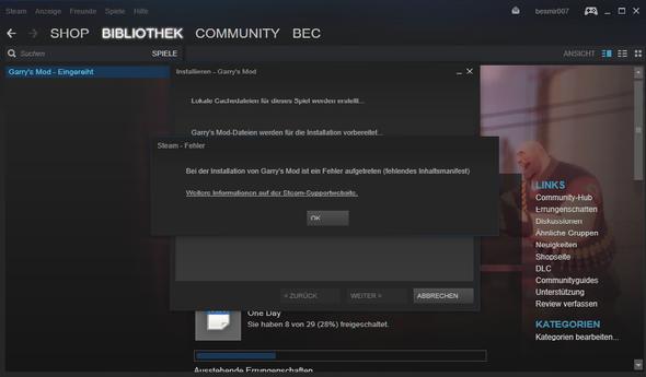Steam-Screenshot - (Programm, PC-Spiele, Software)